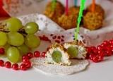 Рождественское меню: оригинальный рецепт виноград в сыром пальто от Асмик Гаспарян